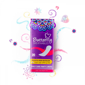 butterfly panty liners